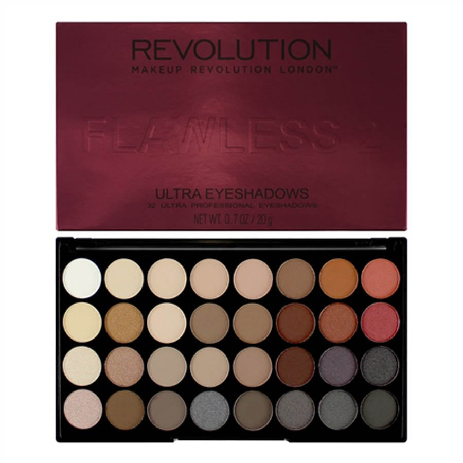 Make Up Revolution Ultra 32 Eyeshadow Palette Flawless 2
