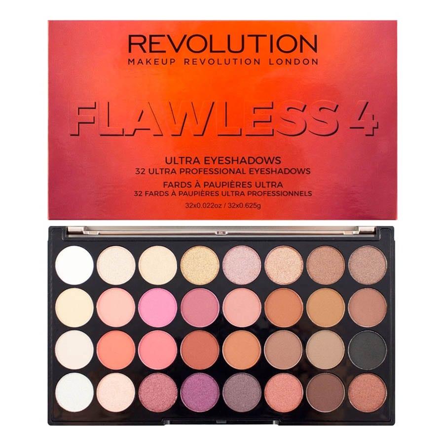 Make Up Revolution Ultra 32 Eyeshadow Palette Flawless 4