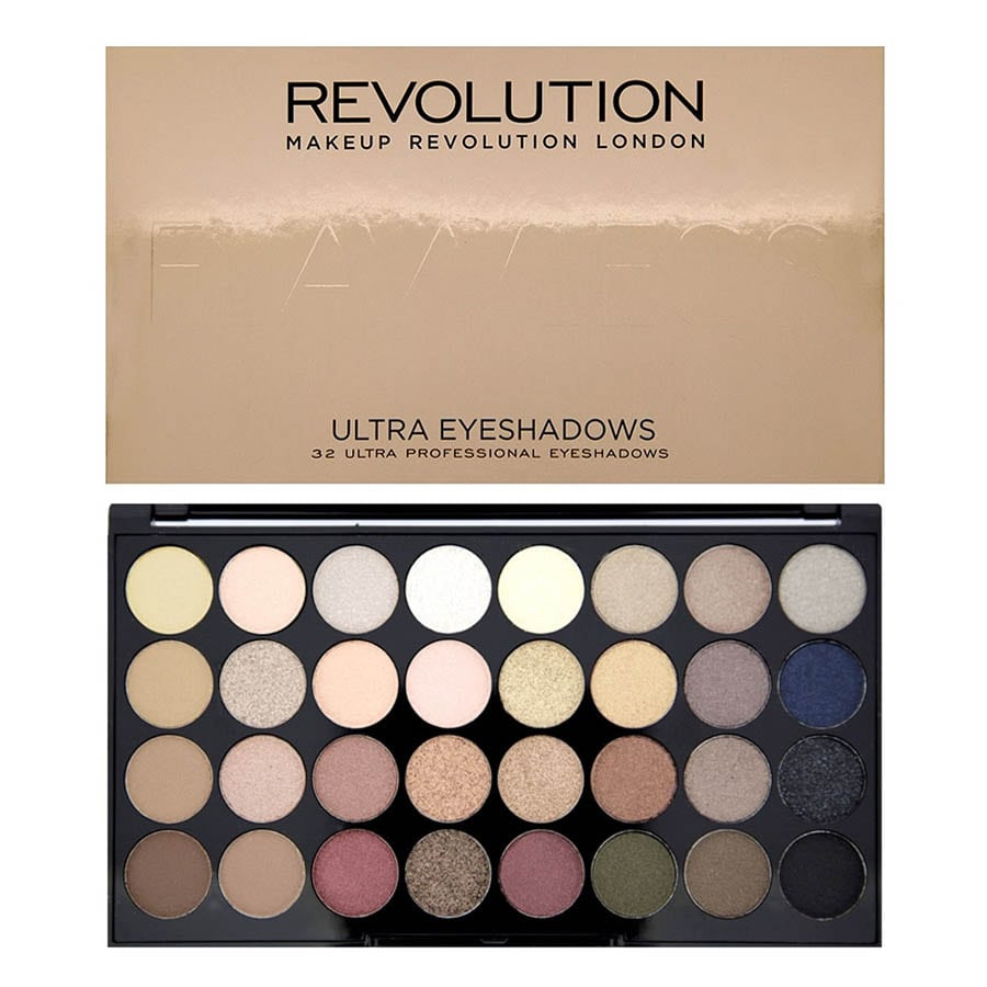 Make Up Revolution Ultra 32 Eyeshadow Palette Flawless