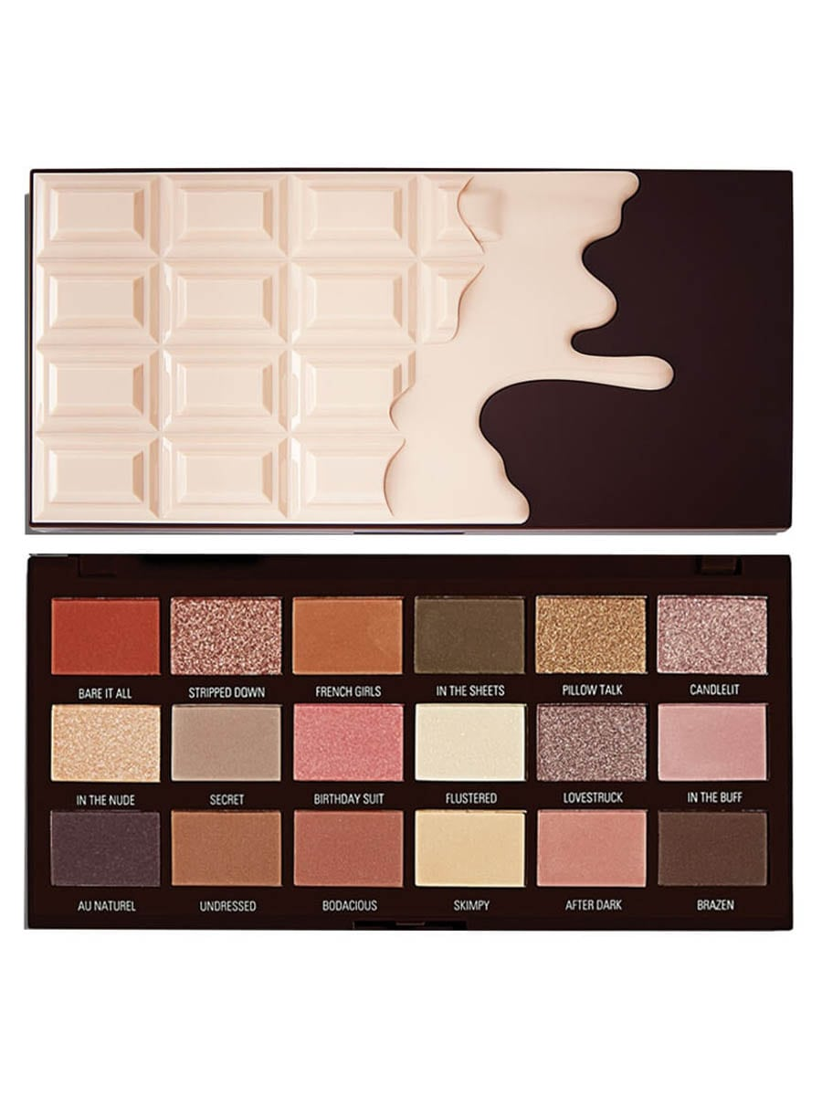 I Heart Revolution Chocolate Nudes Eyeshadow Palette