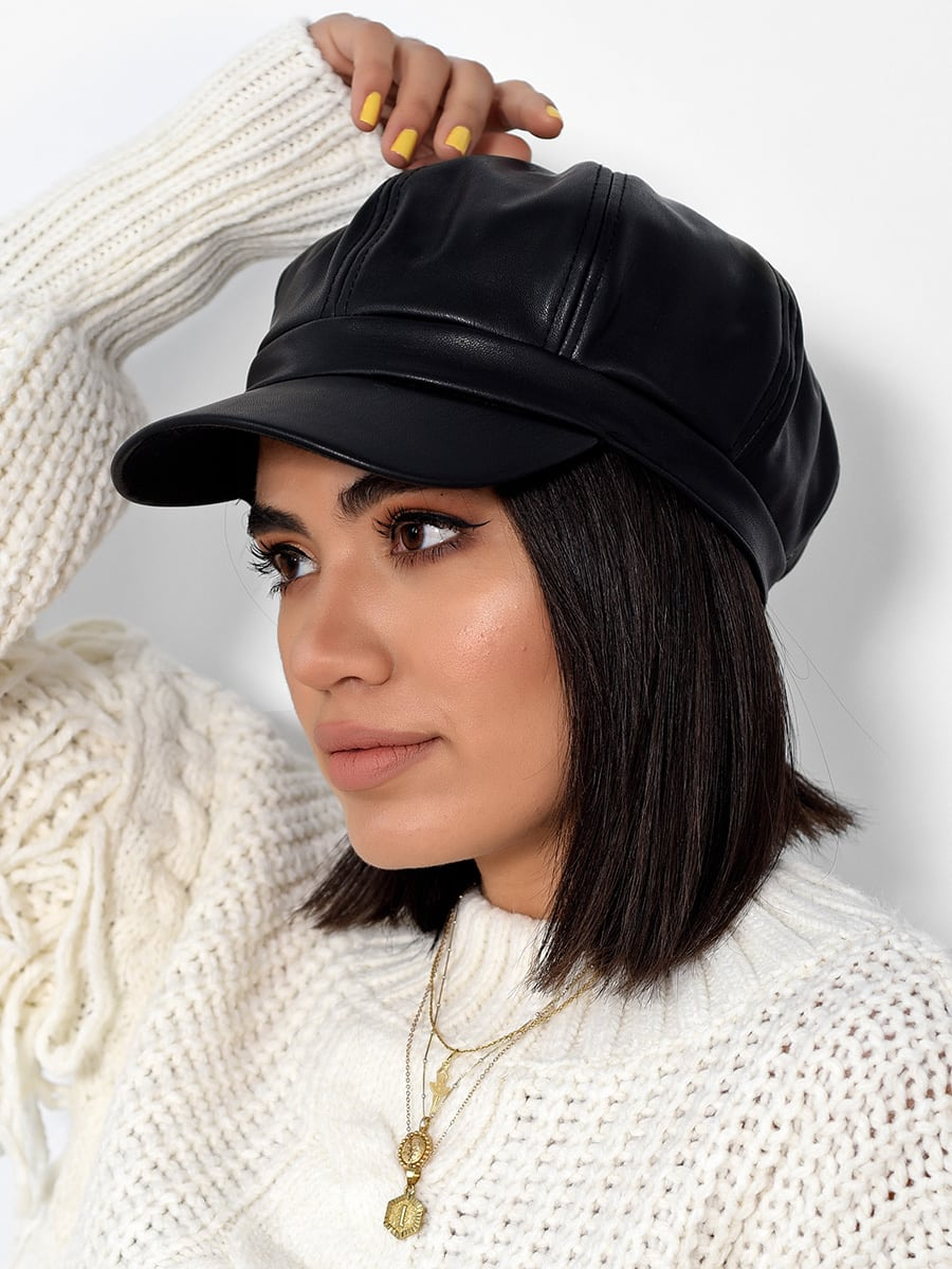 Boss Woman Leather Hat