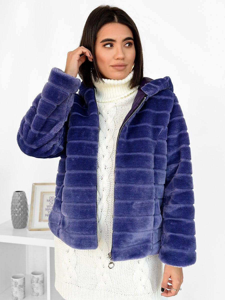 Use Somebody Purple Fur Coat