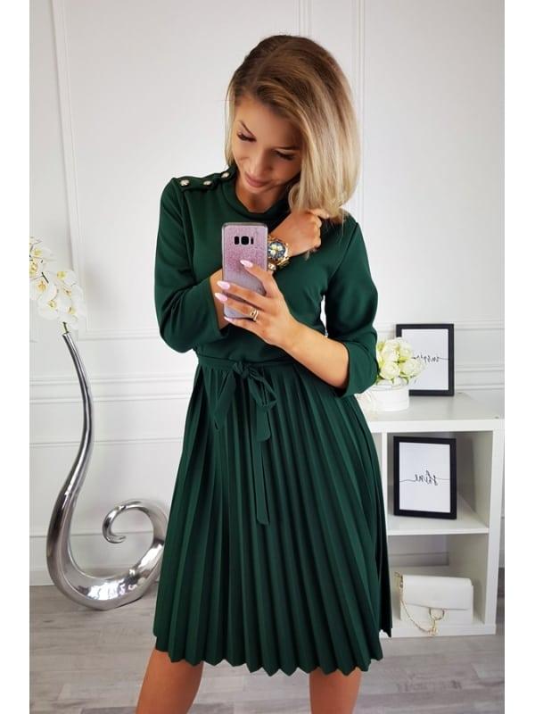 Play Nice Cypress Pleated Dress